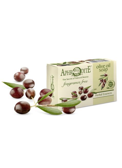Оливковое мыло без отдушек