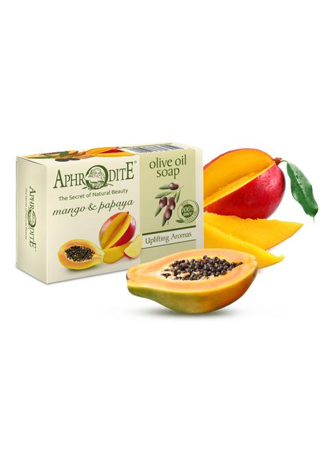 Оливковое мыло с манго и папайей