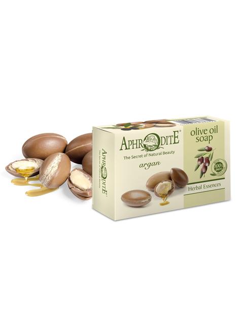 Оливковое мыло с арганой