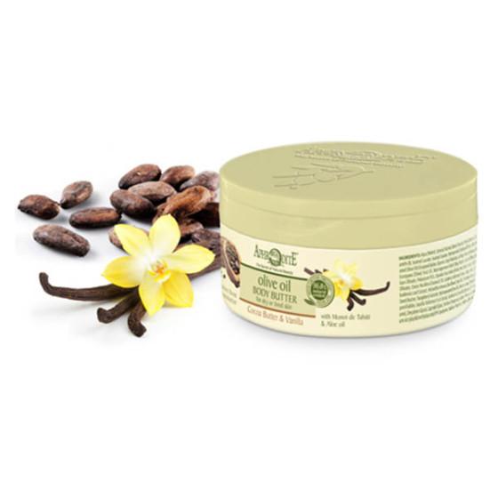 крем-масло с какао и ванилью