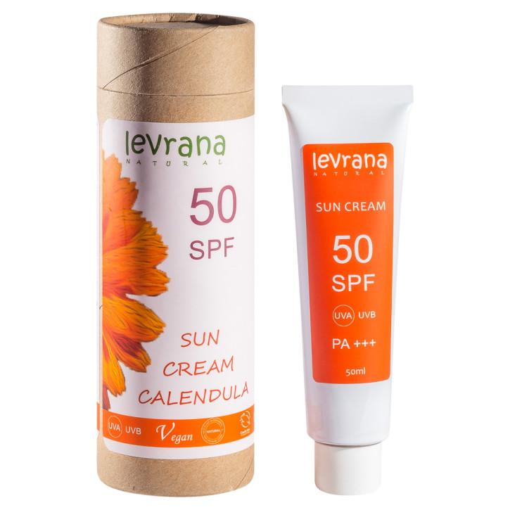 Солнцезащитный крем для тела SPF 50 Levrana