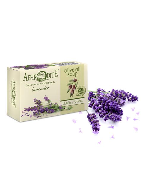 Оливковое мыло с ароматом лаванды