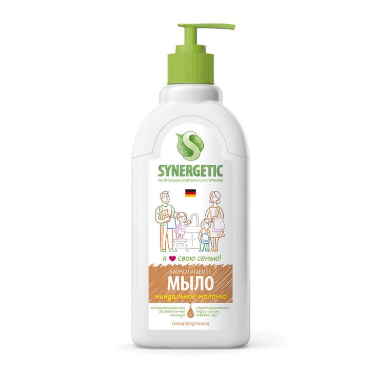 synergetic жидкое мыло миндальное