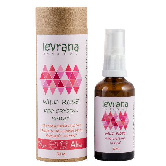 Дезодорант роза Levrana