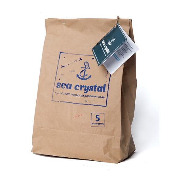 Крымская розовая соль 1кг