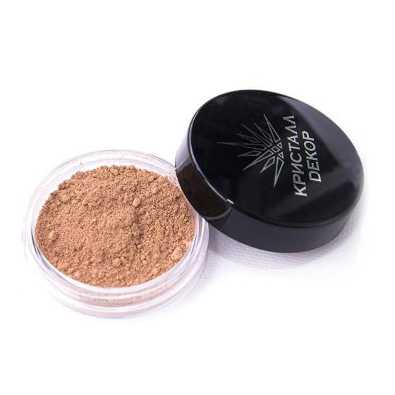 минеральная пудра бежево-коричневый